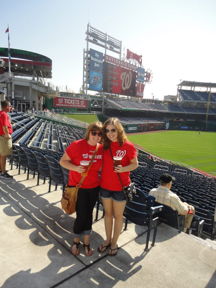 Nationals game last fall.
