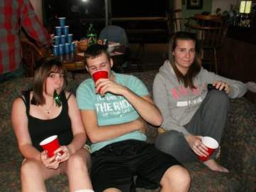 Solo cups = not alcohol. Rest easy, Kelly